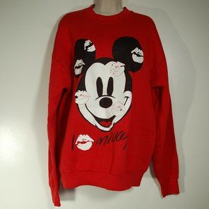 Vintage 1990s Disney I Love Mickey Sweatshirt